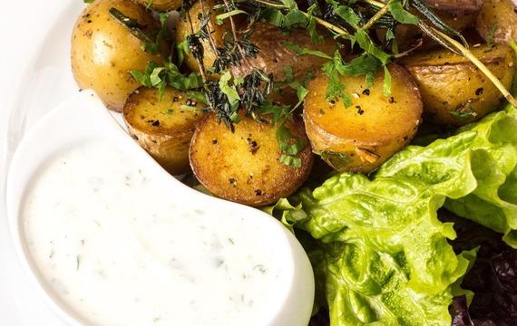Citrónovo-oreganové brambory