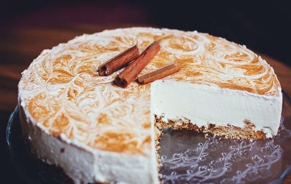 Jogurtový medový cheesecake