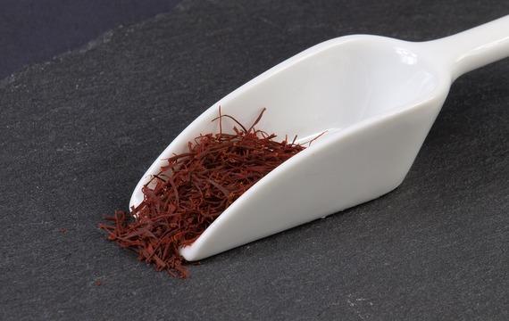 Krémový šafránový jogurt