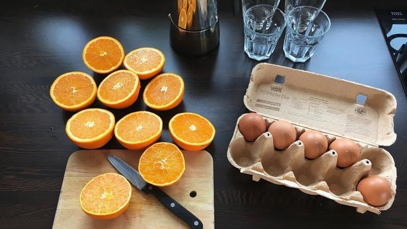 Pečeně v pomerančové marinádě