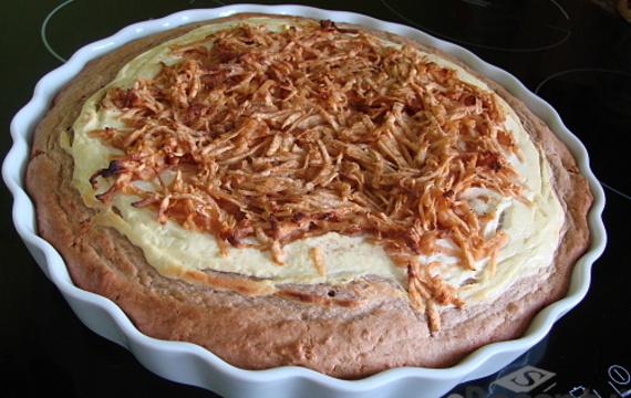 Celozrnný koláč dle Petra Havlíčka