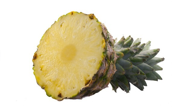 Ananasové créme bruleé