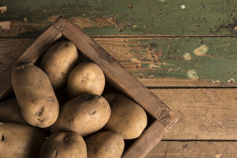 Bombajské brambory s fazolkami
