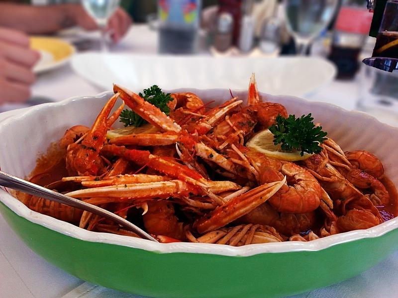 Křupavé mořské plody s kapary