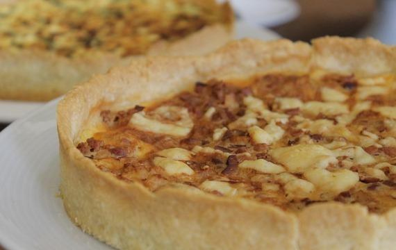 Bramborovo-slaninový quiche