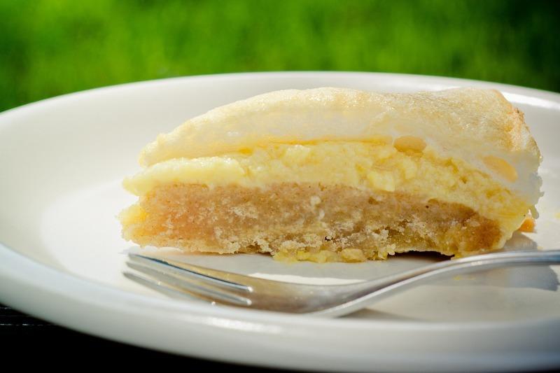 Bleskový citronový koláč