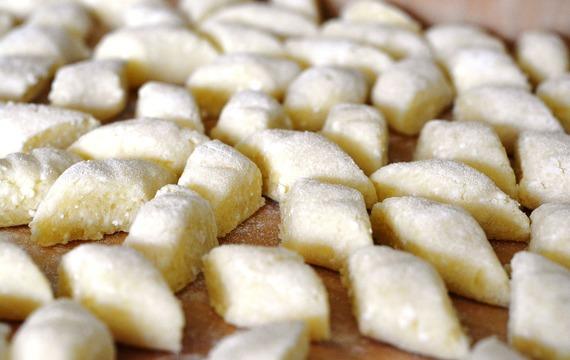 Plněné bramborové šišky