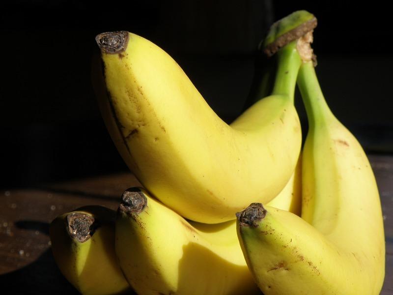 Banány v županu