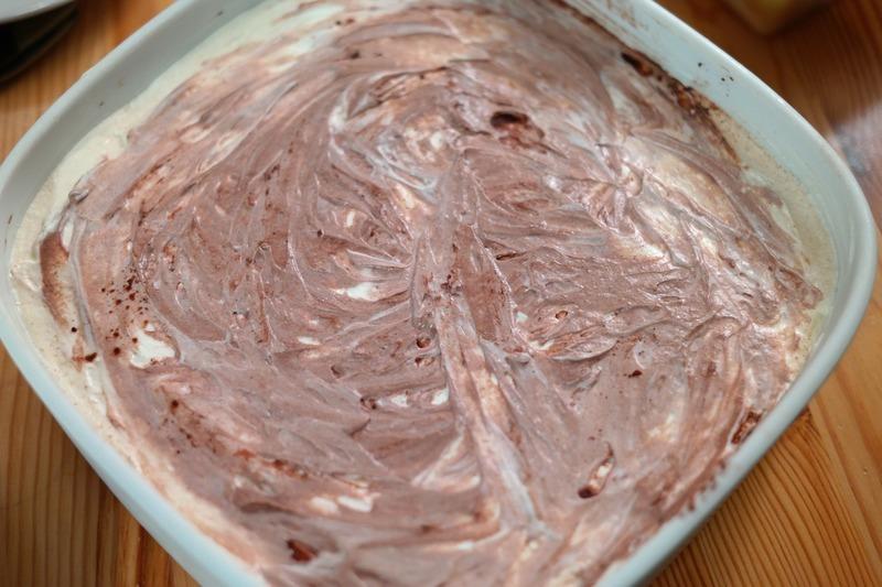 Čokoládový krém se šlehačkou