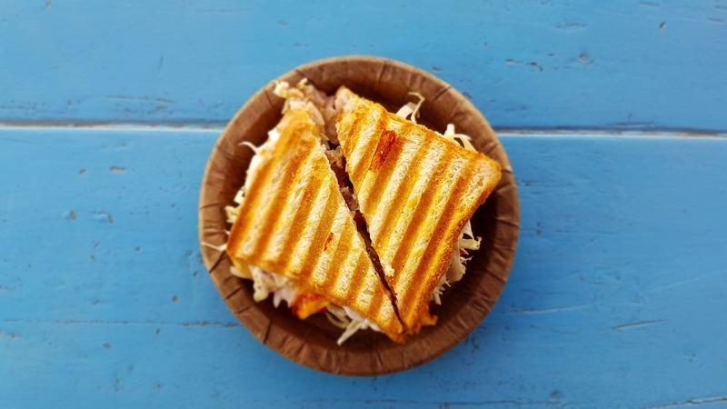 Grilované sýrové toasty