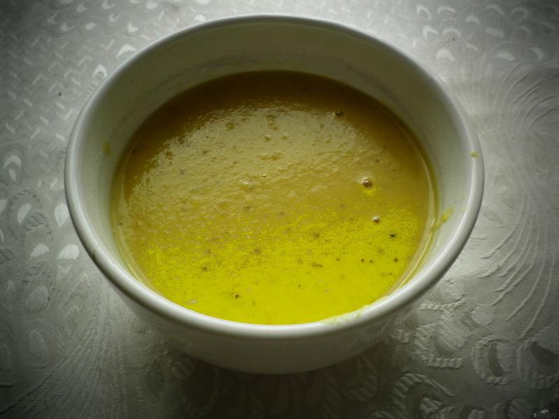 Thajská čočková polévka
