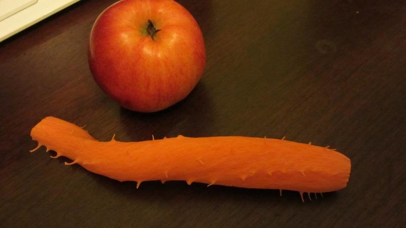 Mrkvový salát s jablky