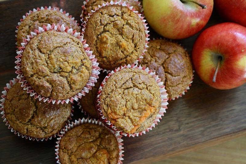 Slané muffiny s ovocem