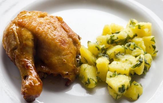 Kuře na jalovci