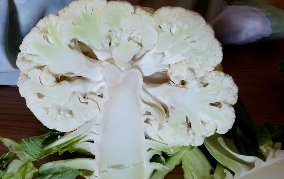 Pečený květák se smetanou