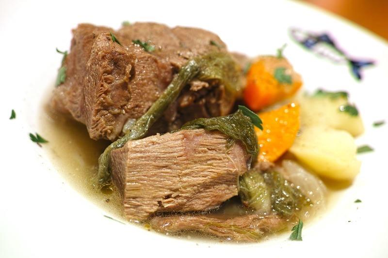 Hovězí maso s mrkví
