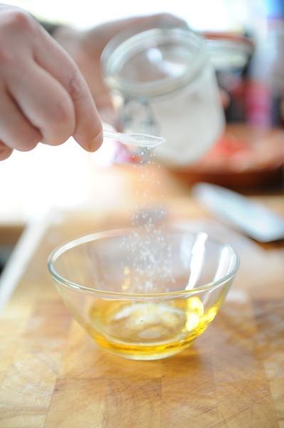 Medová marináda se zázvorem