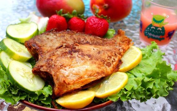 Rybí filé s pikantní šípkovou omáčkou