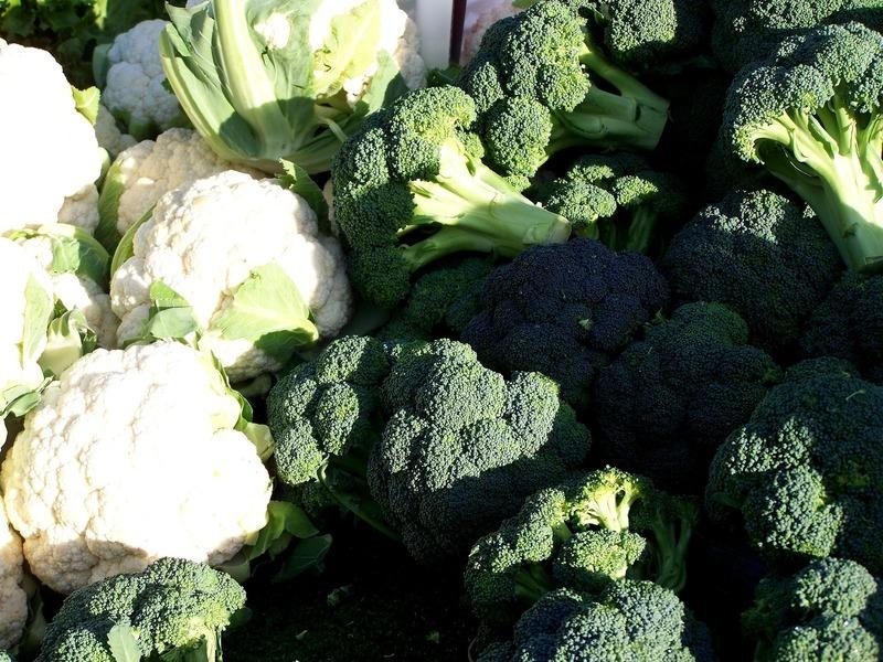 Dort z květáku a brokolice
