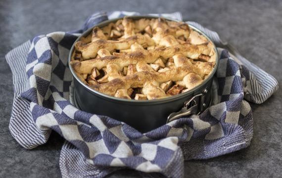 Bleskový koláč s jablky