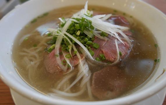 Hovězí vývarová polévka