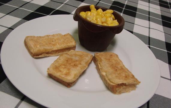 Uzené tofu v těstíčku