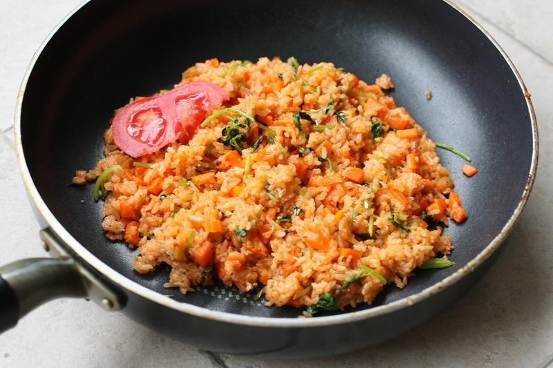 Lehká rajčatová rýže