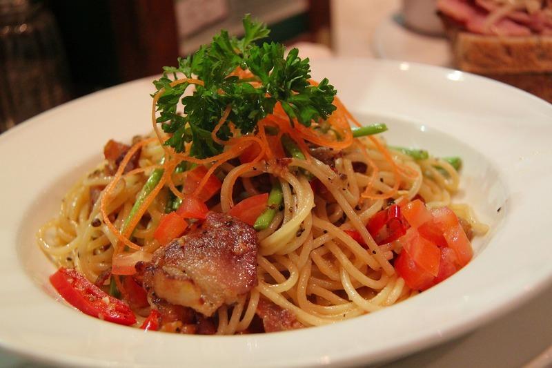 Mrkev se špagetami