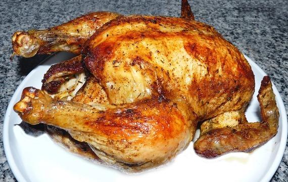 Kachna na fíkovo-houbovém lůžku