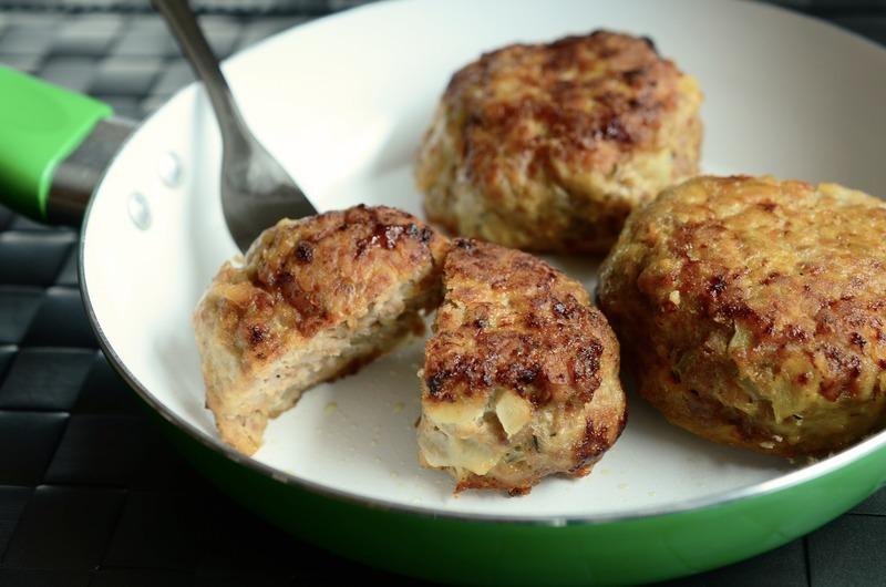 Kapustové karbanátky s bramborami