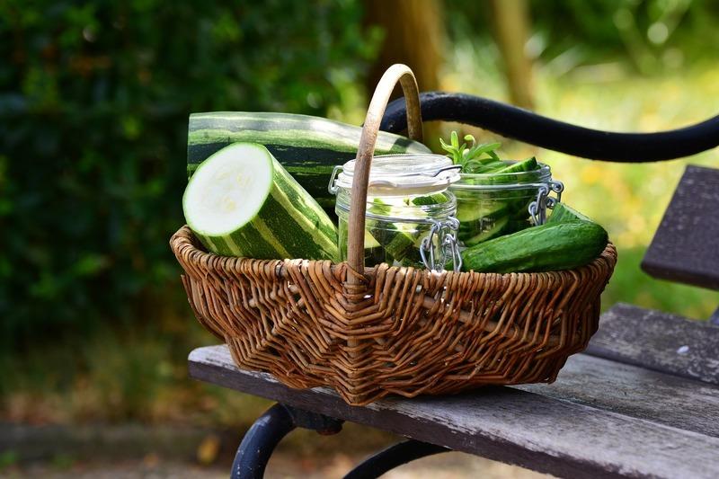 Naložená křupavá zelenina