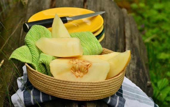 Polévka z melounu a manga