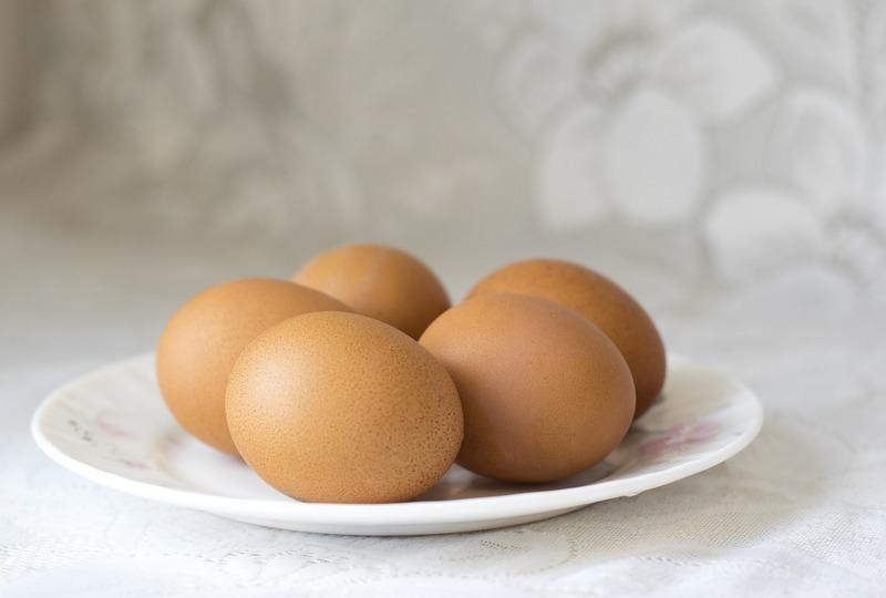 Pappardelle z cizrny se ztraceným vejcem