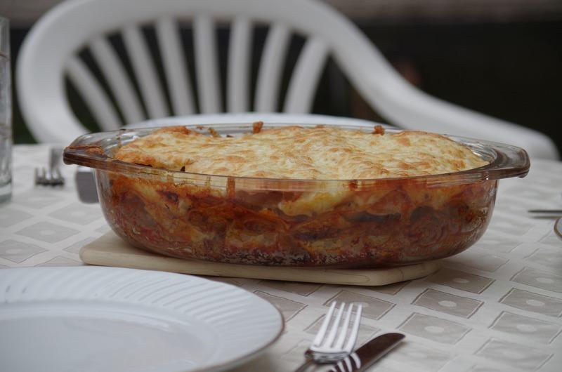 Lilkové lasagne s bulgurem