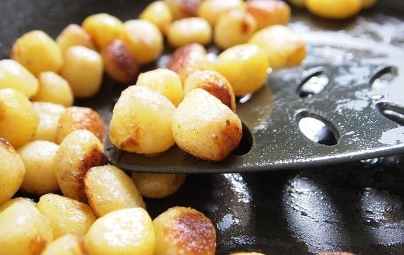Kapr v bramborách
