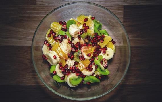 Trošku sladký salát