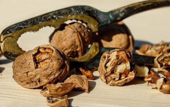Ořechové jemné pečivo