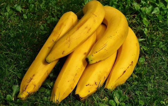 Kuře na banánech