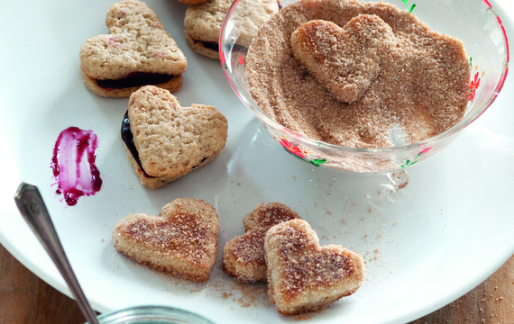 Srdíčka se skořicovým cukrem