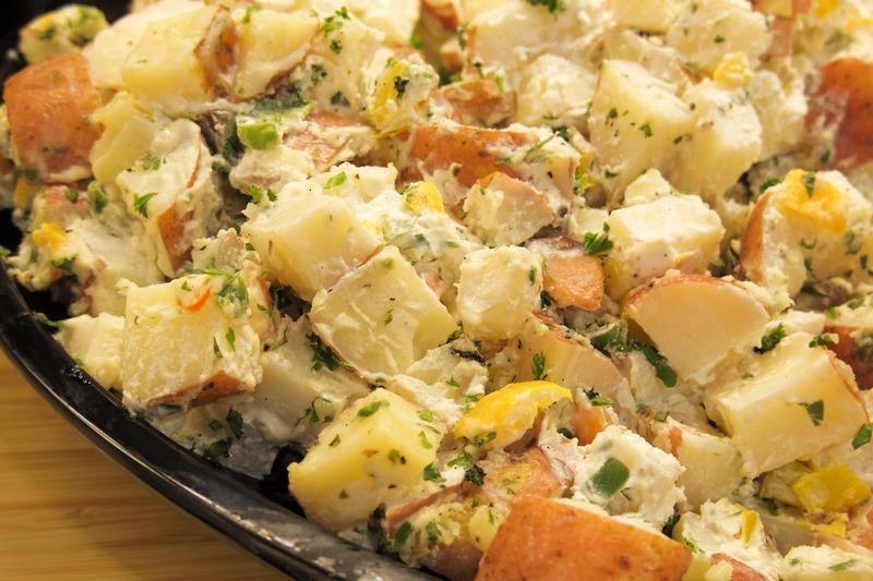 Babiččin bramborový salát