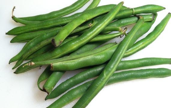 Skopové řízky s fazolkami
