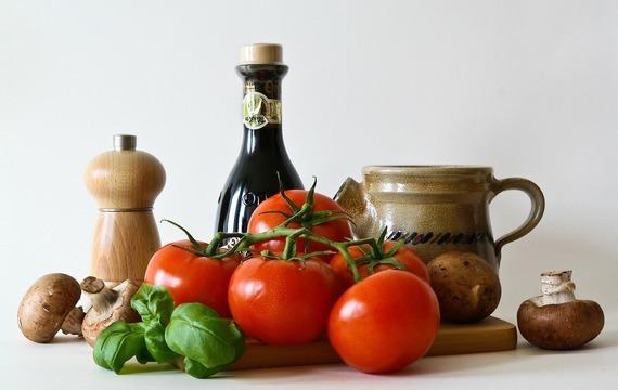 Zelenina na grilu s dresinkem
