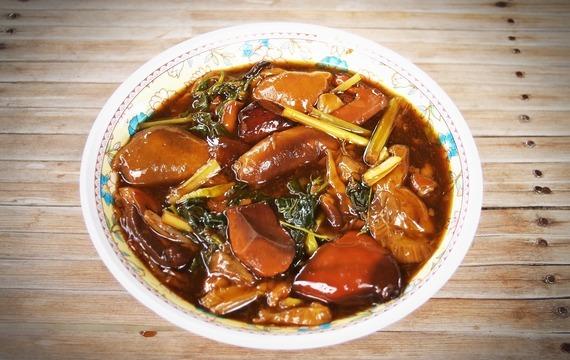 Houbová polévka 2.