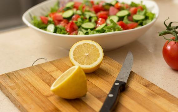 Okurkový salát s kapií
