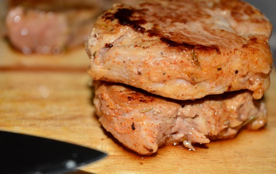 Vepřové steaky s  plackou