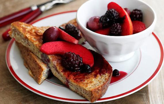 Francouzský toast s ovocem