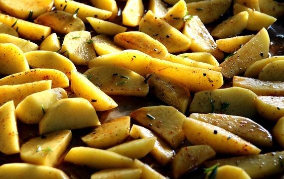 Pečené brambory v troubě