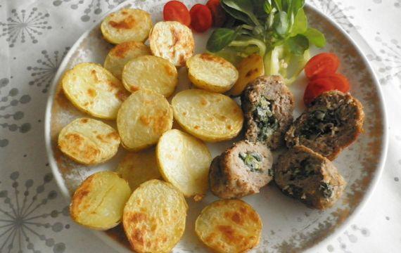 Karamelizované brambory