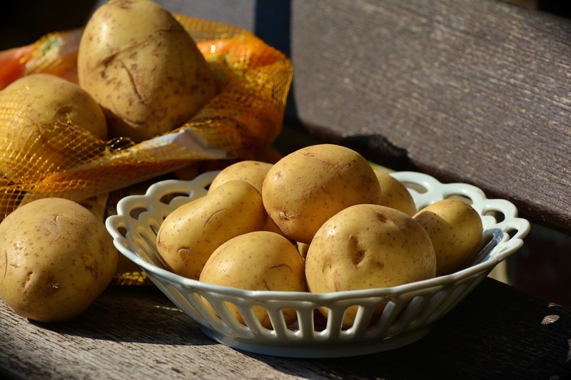 Pečené brambory ve slupce