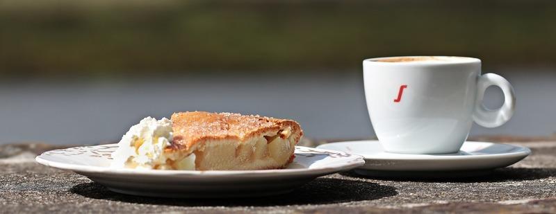 Lehký jablečný koláč